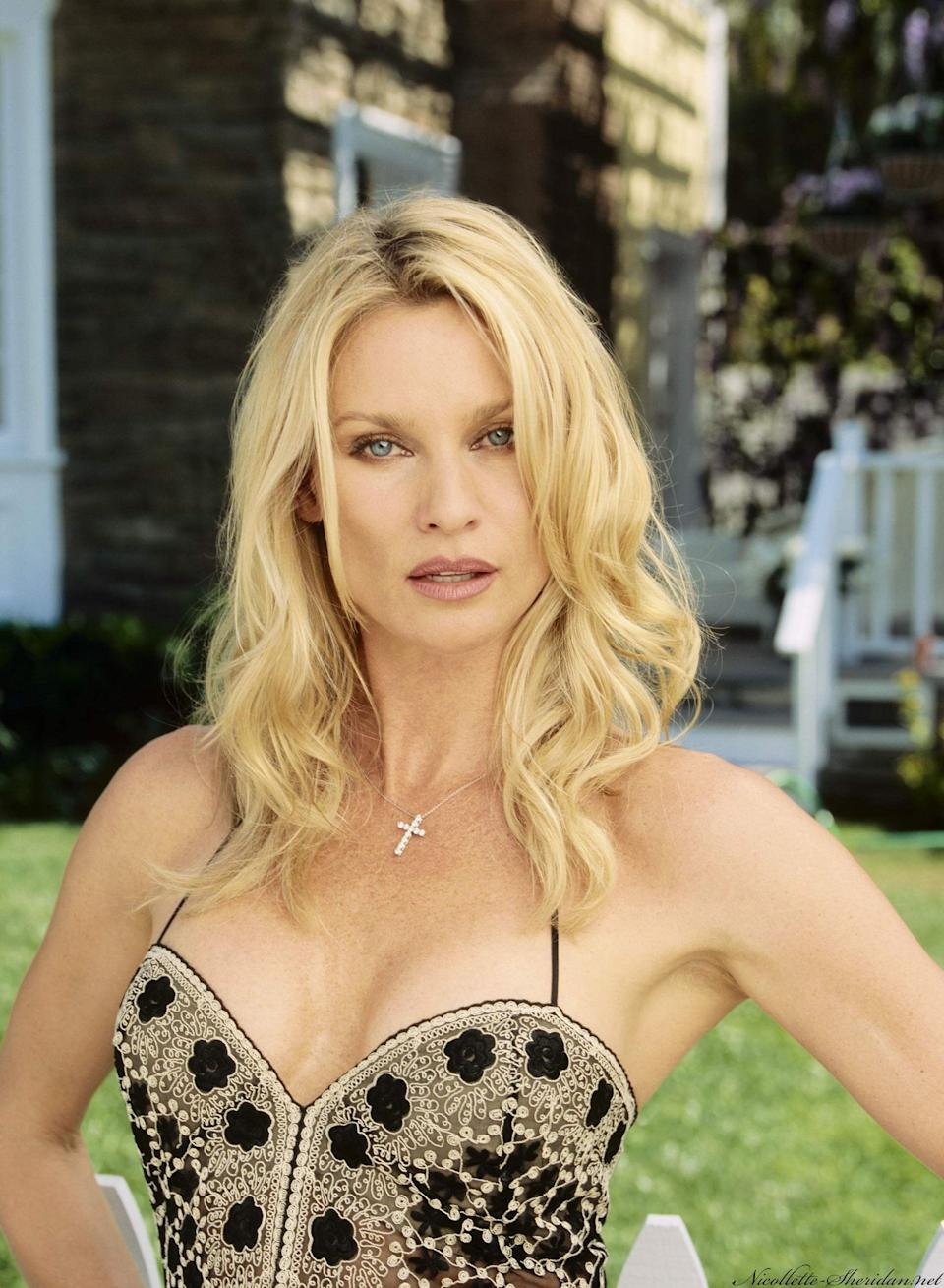 Nicolette was nominated for a Golden Globe for her portrayal of Edie Britt, which she did for five series. The character wasn't one of the main 'Housewives', but did have a special place in fans' hearts.