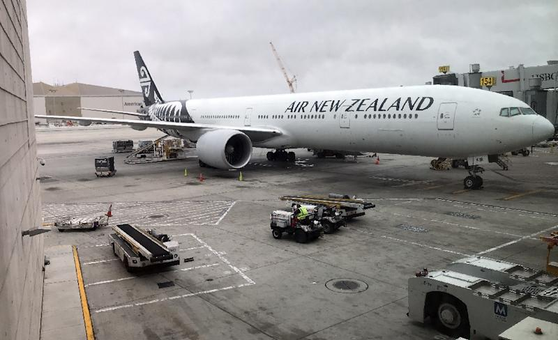 Air New Zealand's new Boeing jets will replace the airline's ageing Boeing 777-200s like this one at the Los Angeles International Airport