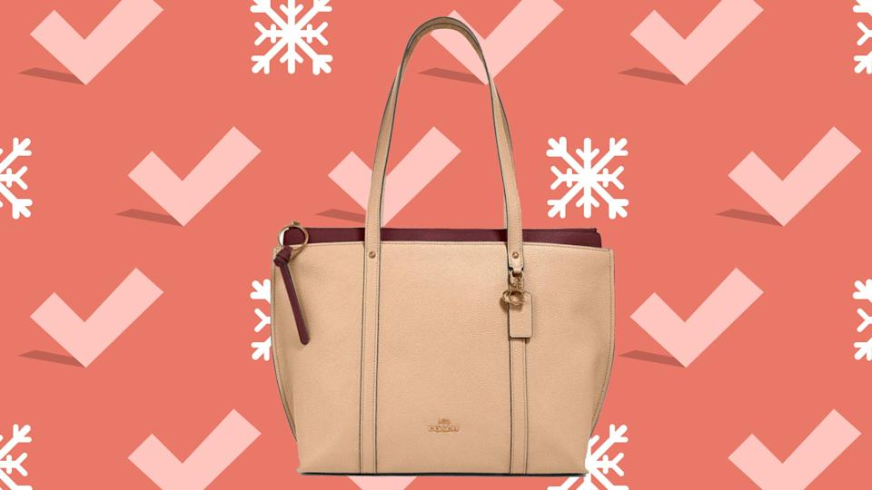 Snag shoulder bags large enough to carry your laptop or tablet.