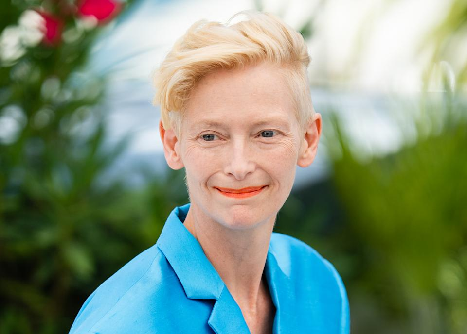 CANNES, FRANCE - JULY 13: Tilda Swinton attends the