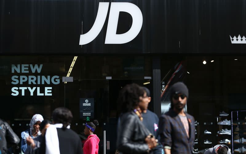 JD Sports restores outlook as sales start to recover