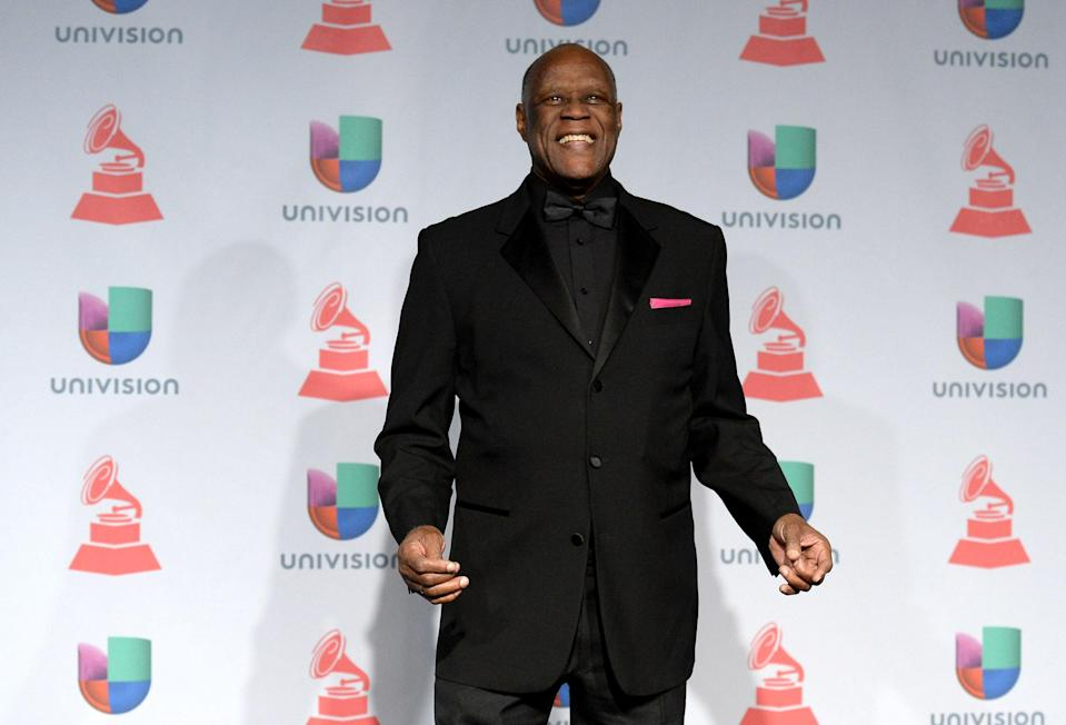 File: Johnny Ventura at the 14th Annual Latin Grammy Awards (Getty Images)