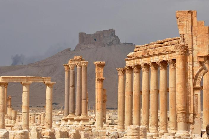 Palmyra attracted more than 150,000 tourists a year before civil war broke out in Syria in 2011 (AFP Photo/STRINGER)