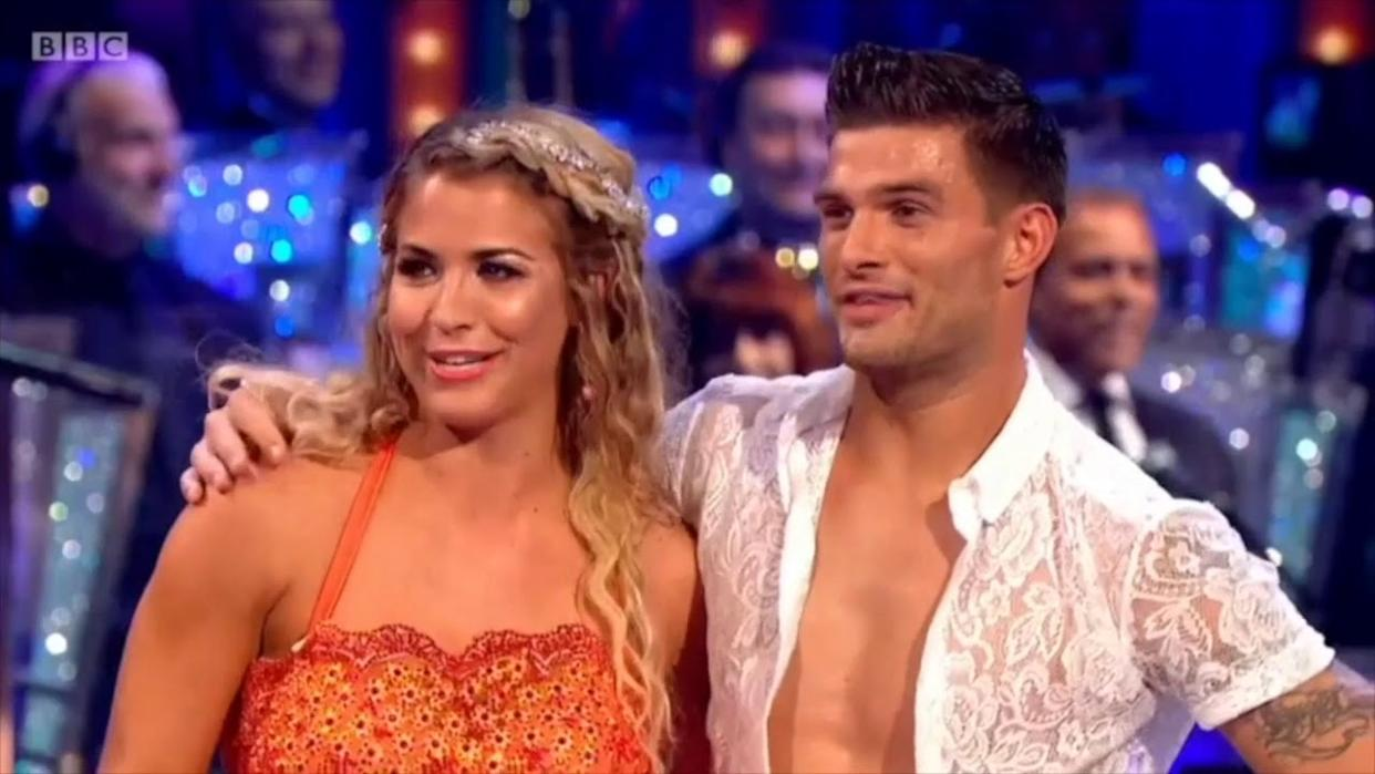 Strictly Come Dancing's 'secret couple' Gemma Atkinson and Gorka Marquez caught in 'explosive' public row