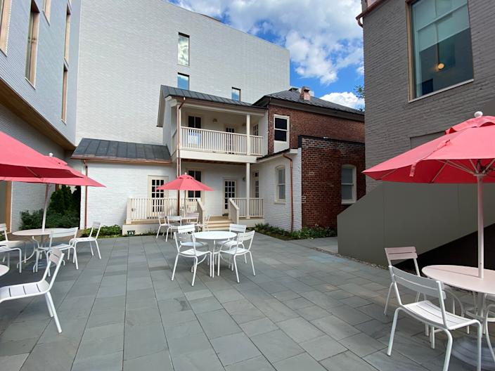 12. Quirk Charlottesville Outdoor seating