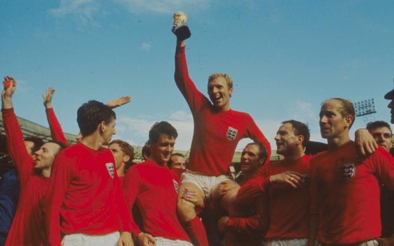 Bobby Moore with the World Cup after England famously beat Germany in the 1966 final. The UK produced 1.74 million vehicles in 2017 although, like the Premier League, many of the key players are foreign - The LIFE Picture Collection