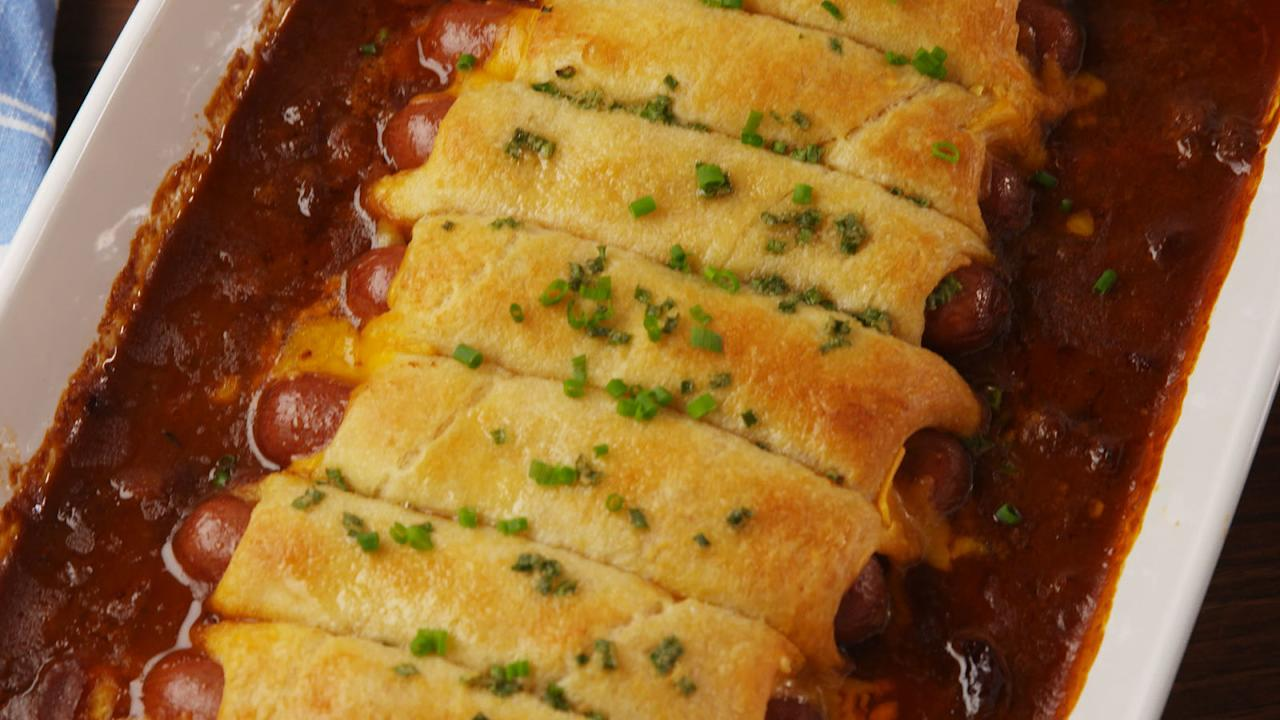 """<p>If you have one ingredient on hand at all times, it should totally be crescent rolls.</p><p>Looking for more versatile ingredients? Try our <a rel=""""nofollow"""">next-level ways to use puff pastry</a>.</p>"""