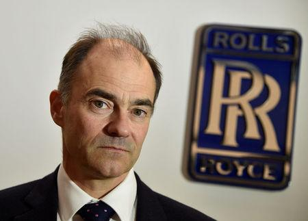FILE PHOTO: Warren East, CEO of Rolls-Royce, poses for a portrait at the company aerospace engineering and development site in Bristol, Britain December 17, 2015. REUTERS/Toby Melville/File Photo