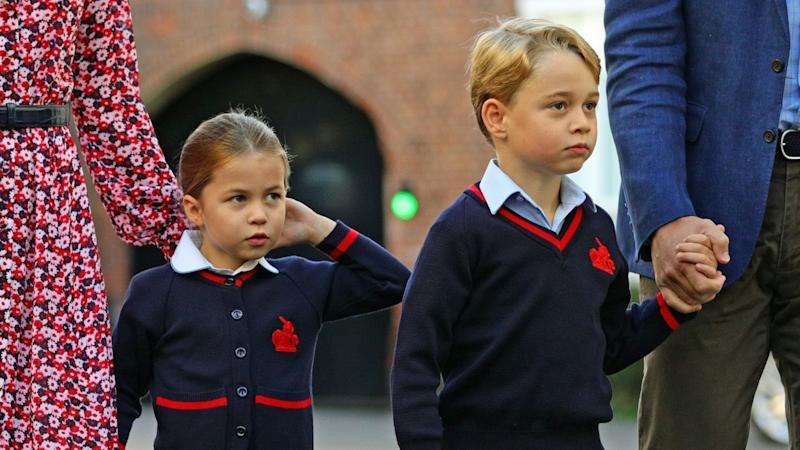 Prince George and Princess Charlotte to Attend Christmas Church Service With Royal Family for the First Time