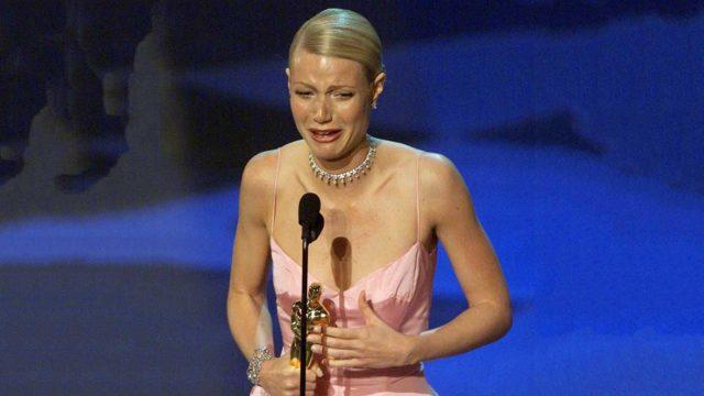 And the award goes to... Gwenyth Paltrow receives her Oscar for Shakespeare in Love. (Source: Stockhead)