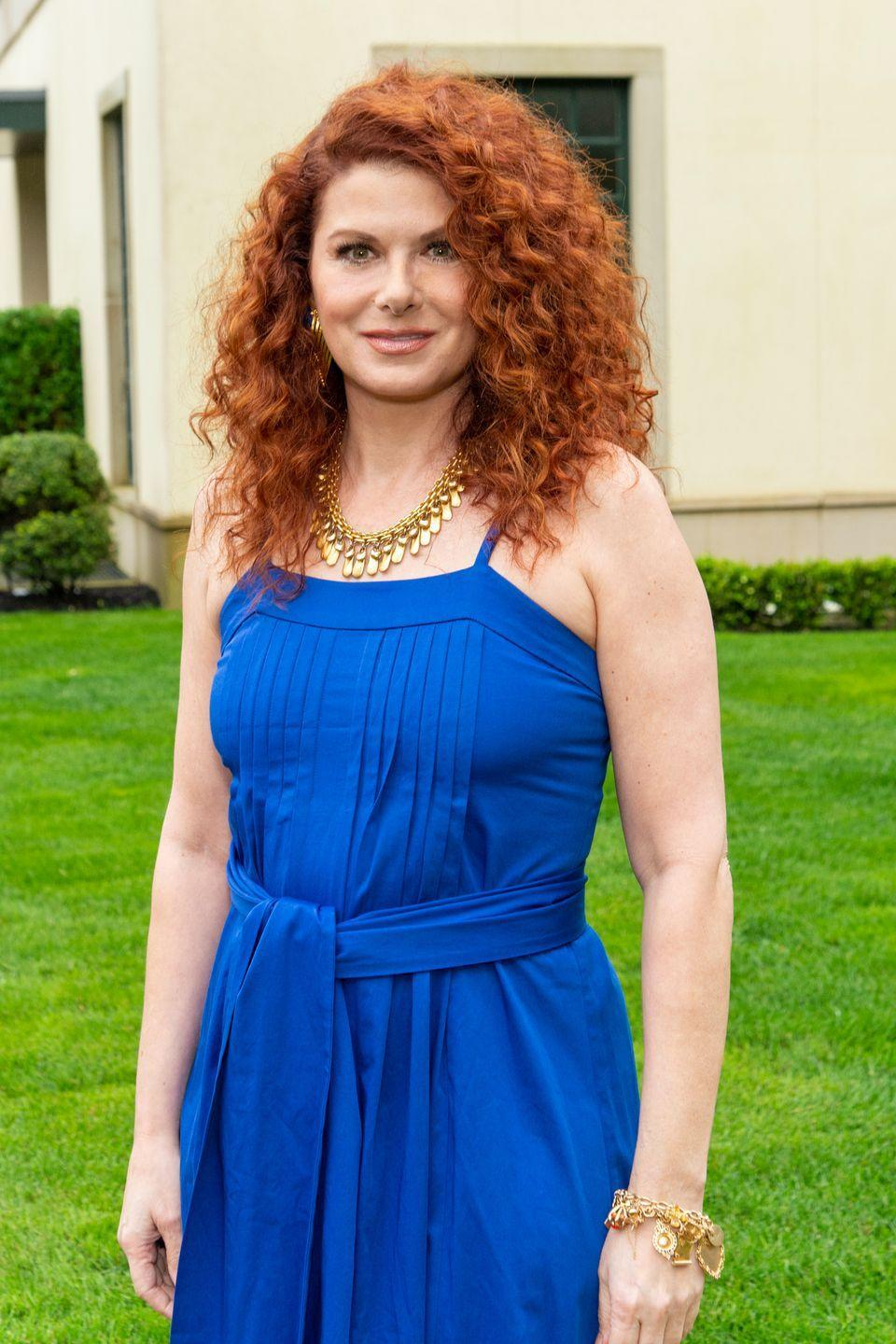 """<p>Ask your pro for a toned-down copper to go lighter or auburn for a darker hue to channel <strong>Debra Messing</strong>. At home, opt for a color kit with keywords on the box like """"medium auburn,"""" """"dark auburn,"""" """"copper,"""" or """"natural"""" in the name of the shade.<br></p>"""