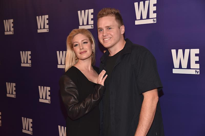 Excited: Spencer Pratt and Heidi Montag: Alberto E. Rodriguez/Getty