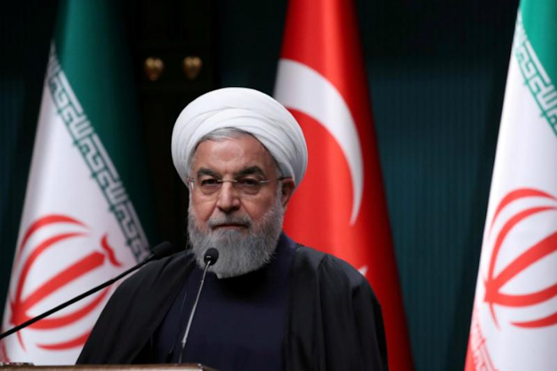 President Rouhani Rejects Talks, Says Iran Faces US 'Economic War'