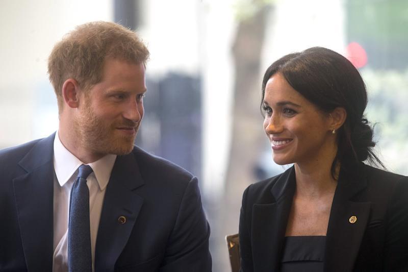 Power Couple: Duke and Duchess of Sussex Dazzle at Military Charity Gala