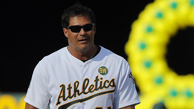Jose Canseco signs on as analyst for Athletics broadcasts