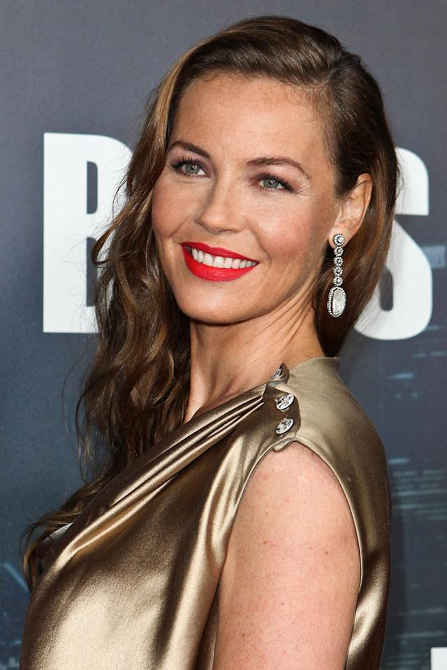 "<a href=""/connie-nielsen/contributor/33171"">Connie Nielsen</a> arrives at the premiere of Starz's ""<a href=""/boss/show/46953"">Boss</a>"" at ArcLight Cinemas on October 6, 2011 in Hollywood, California."