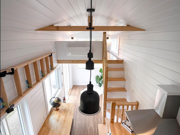 Mint Tiny House Company's Traveler's Paradise build.