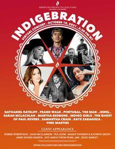 Indigenous Peoples Day is an opportunity for everyone to celebrate indigenous peoples, cultures, stories and achievements.  Please take part in a free online Indige-Bration of Indigenous Peoples Day.  Get your free ticket at https://collegefund.org/indigebration.