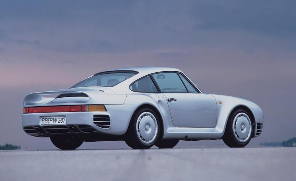 <p>Although none of the 300-ish cars built ever made it officially to the United States when new—some examples were brought here via gray-market import—the shock waves its introduction caused were felt around the automotive world. The 959 was the bellwether for all the computer-controlled techo-wizardry we now take for granted. <em>—Daniel Pund</em></p>