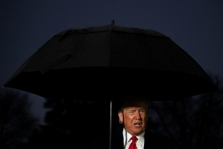 US President Donald Trump is looking for revenge on the Democrats if the Republican-led Senate starts an impeachment trial (AFP Photo/JIM WATSON)