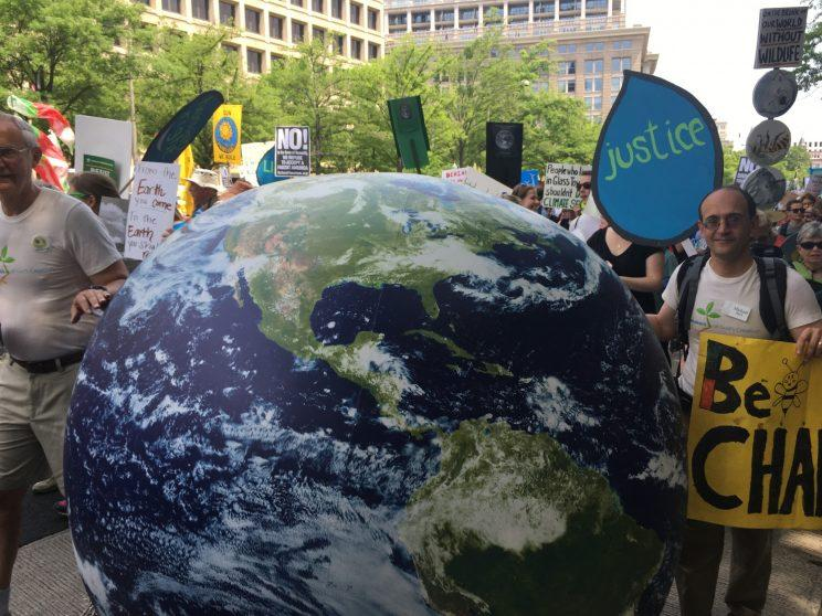 A scene from the Peoples Climate March in Washington. (Photo: Ben Adler/Yahoo News)
