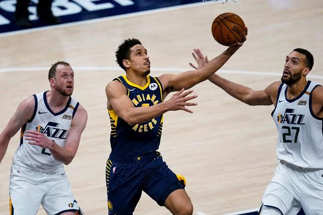 Mitchell Jazz Win For 15th Time In 16 Games Beat Pacers