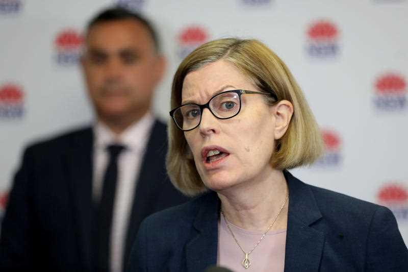 NSW Chief Health Officer Dr Kerry Chant during a press conference in Sydney.