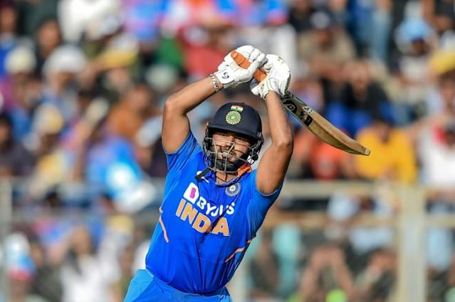 Rishabh Pant will miss India's second ODI against Australia afer suffering a concussion batting in the opening match in Mumbai (AFP Photo/Punit PARANJPE )