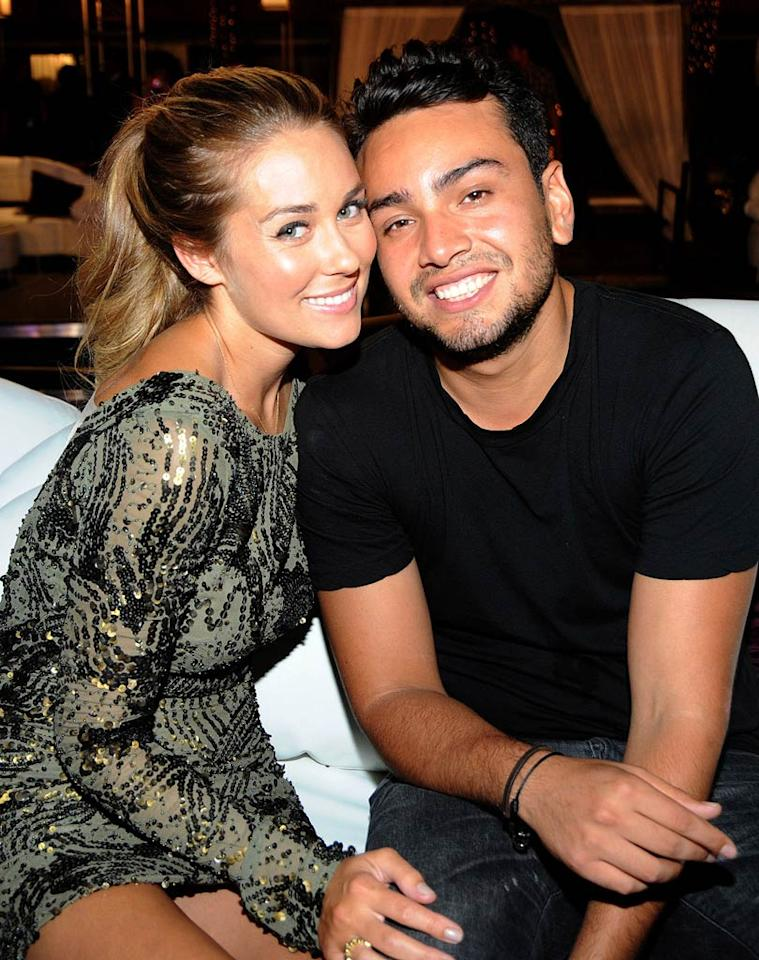 """Former """"Hills"""" leading lady Lauren Conrad was close with co-star Frankie Delgado long before becoming a clothing designer and best-selling author. Turns out that unlike the show, their relationship was real. Jeff Kravitz/<a href=""""http://www.filmmagic.com/"""" target=""""new"""">FilmMagic.com</a> - July 13, 2010"""
