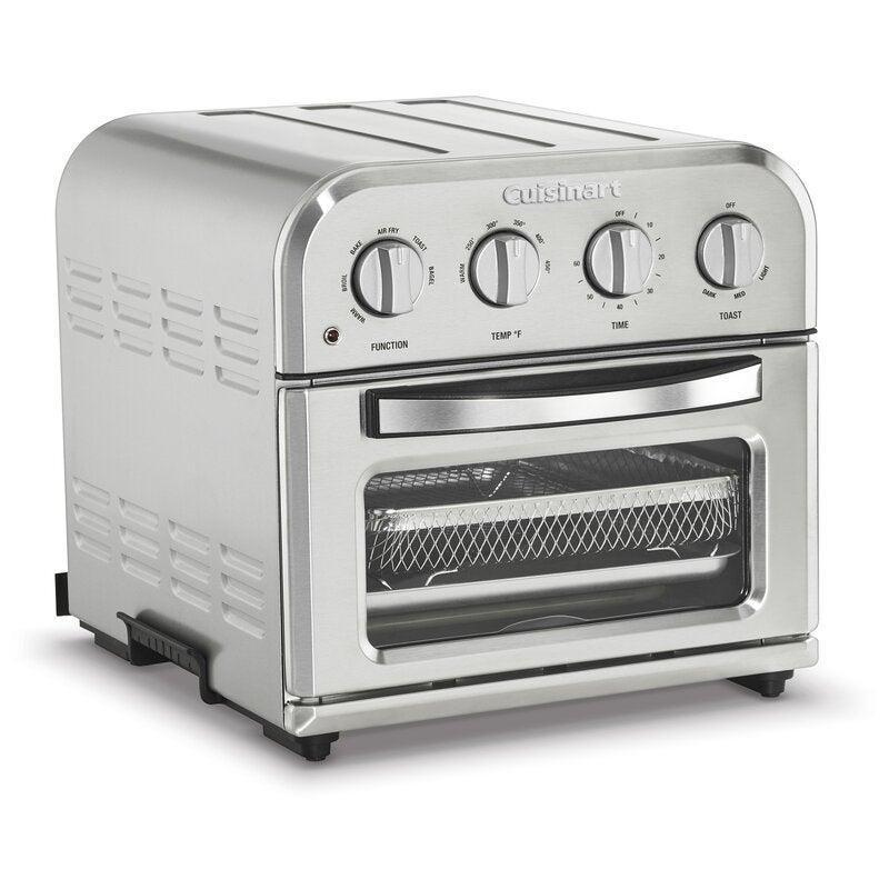 """<br><br><strong>Cuisinart</strong> Compact Airfryer Toaster Oven, $, available at <a href=""""https://go.skimresources.com/?id=30283X879131&url=https%3A%2F%2Fwww.wayfair.com%2Fkitchen-tabletop%2Fpdp%2Fcuisinart-compact-airfryer-toaster-oven-dvzj1476.html"""" rel=""""nofollow noopener"""" target=""""_blank"""" data-ylk=""""slk:Wayfair"""" class=""""link rapid-noclick-resp"""">Wayfair</a>"""
