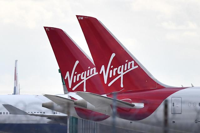 Several investors are circling Virgin Atlantic as the airline attempts to secure emergency finance. Photo: BEN STANSALL/AFP via Getty Images