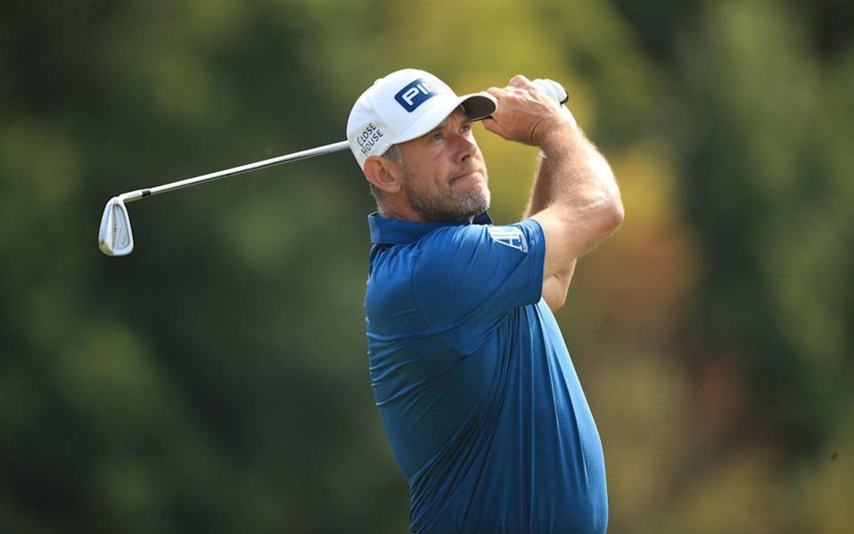 Lee Westwood playing golf -Lee Westwood joins outcry at BBC's 'insulting' decision to give Women's Open highlights the 'graveyard shift' - PA
