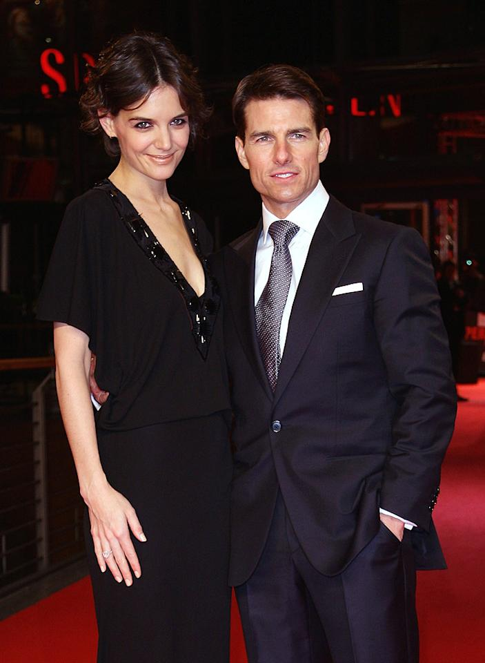 "Tom Cruise popped the question to Katie Holmes at the Eiffel Tower after only a few months of dating. Although many believed that their relationship was a sham, the couple is still going strong after two and a half years of marriage. Andreas Rentz/<a href=""http://www.gettyimages.com/"" target=""new"">GettyImages.com</a> - January 20, 2009"