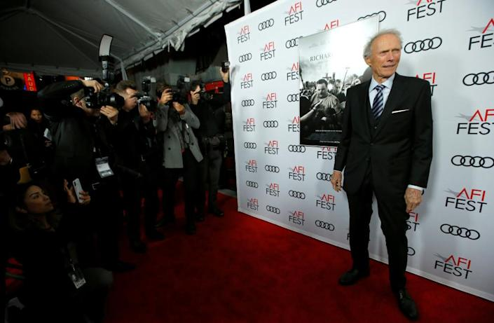 Clint Eastwood attends the premiere of Richard Jewell.