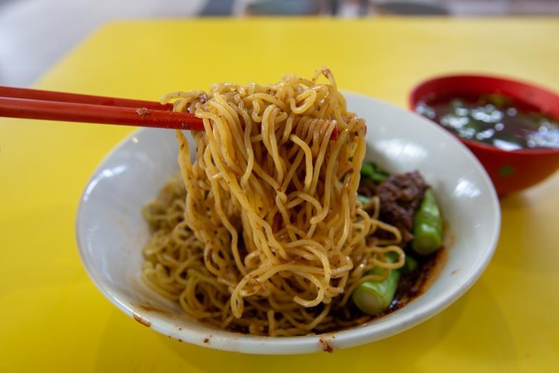 Noodle pull from Lao Jie Fang