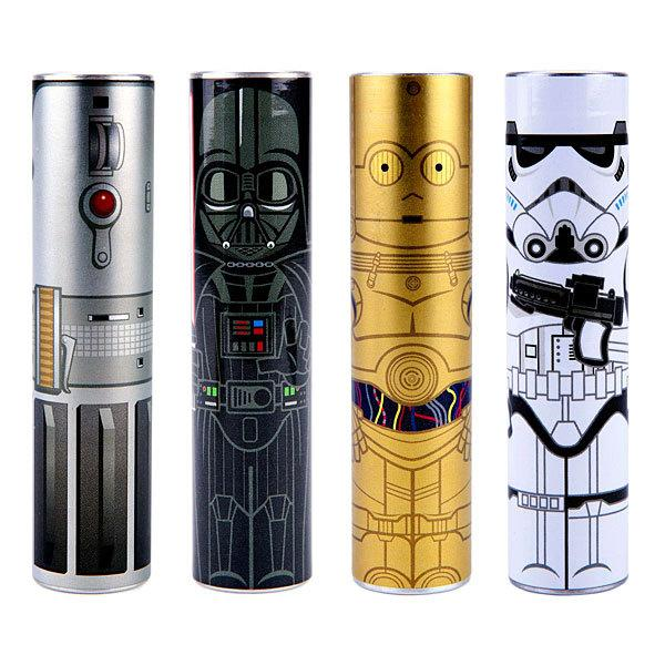 """<p>Surprisingly, the Force is able to be stored in back-up chargers. Whether you choose Luke's lightsaber, Darth Vader, C-3PO, or the Stormtrooper, each of <a href=""""http://www.thinkgeek.com/product/htrj/"""">these back-ups</a> can be used for smartphones and other devices, and comes with a USB charging cable and multiple connector tips. $22.49–$29.99</p><p><i>(Photo: <a href=""""http://www.thinkgeek.com/product/htrj/"""">ThinkGeek</a>)</i></p>"""