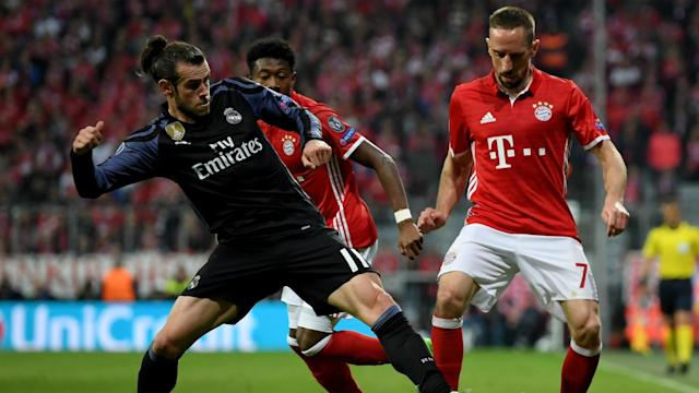 """The Real Madrid boss says the Wales attacker """"doesn't feel so good"""" after he was taken off against Bayern Munich with a muscle problem"""