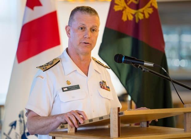 Canada's top military commander Art McDonald has stepped aside pending an investigation into allegations of misconduct. (Andrew Vaughan/The Canadian Press - image credit)