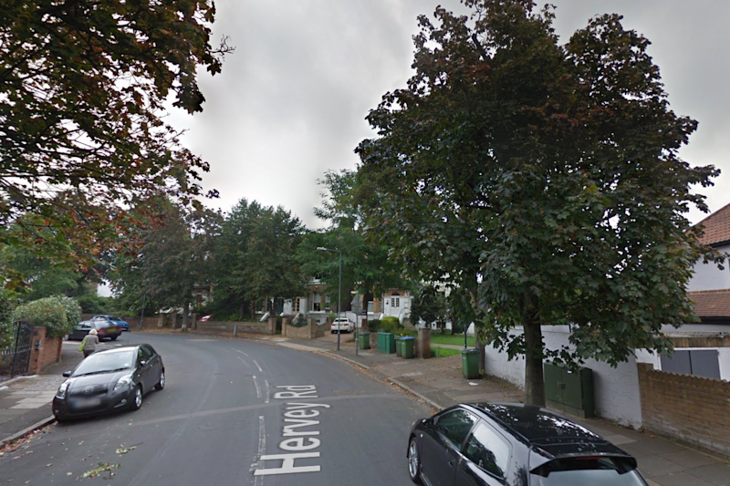 Murder: Jordan was found slumped on the street on Hervey Road (Google maps)