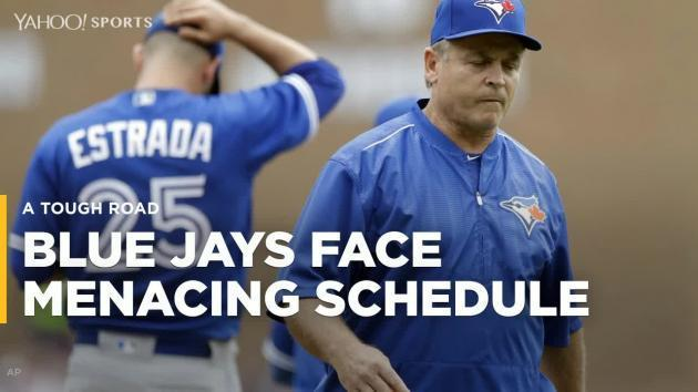 Blue Jays face menacing schedule in second half