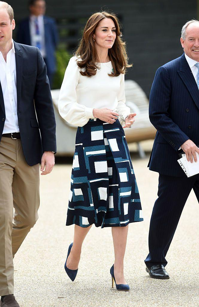 """<p>Kate wore <a href=""""http://bit.ly/1shxkVn"""" rel=""""nofollow noopener"""" target=""""_blank"""" data-ylk=""""slk:Banana Republic"""" class=""""link rapid-noclick-resp"""">Banana Republic</a> and <a href=""""https://go.redirectingat.com?id=74968X1596630&url=http%3A%2F%2Fwww.goatfashion.com%2F&sref=https%3A%2F%2Fwww.townandcountrymag.com%2Fstyle%2Ffashion-trends%2Fnews%2Fg1633%2Fkate-middleton-fashion%2F"""" rel=""""nofollow noopener"""" target=""""_blank"""" data-ylk=""""slk:Goat Fashion"""" class=""""link rapid-noclick-resp"""">Goat Fashion</a> for the <a href=""""https://www.headstogether.org.uk/"""" rel=""""nofollow noopener"""" target=""""_blank"""" data-ylk=""""slk:Heads Together"""" class=""""link rapid-noclick-resp"""">Heads Together</a> launch.</p>"""
