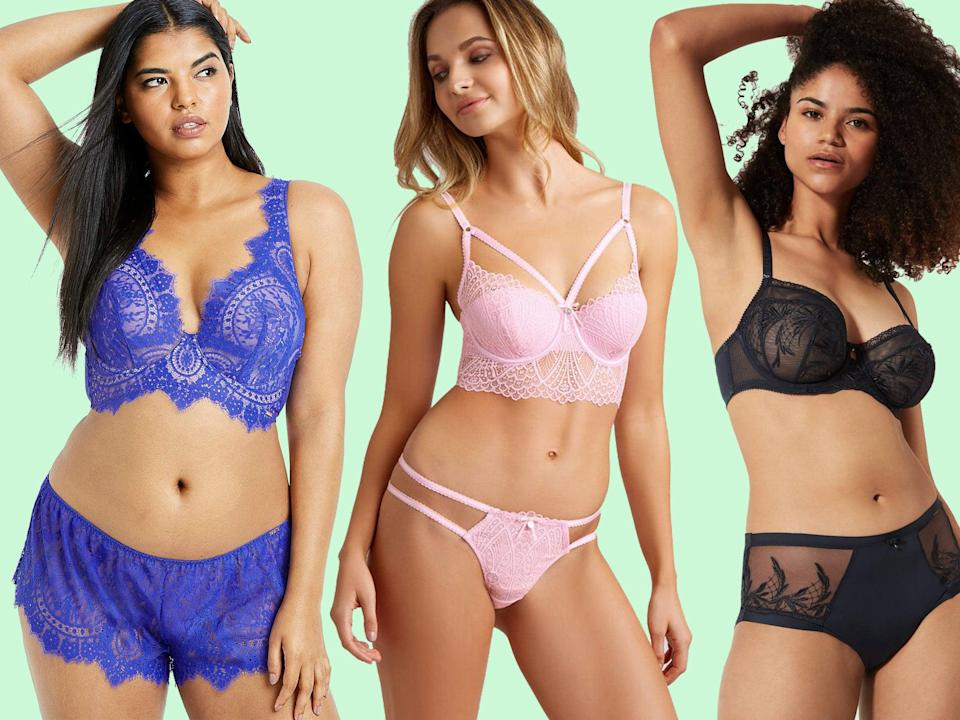 Some online shops offer shopping aids like tips and tricks videos for choosing the right bra size and online advisors to chat to in case you have any questions: The Independent