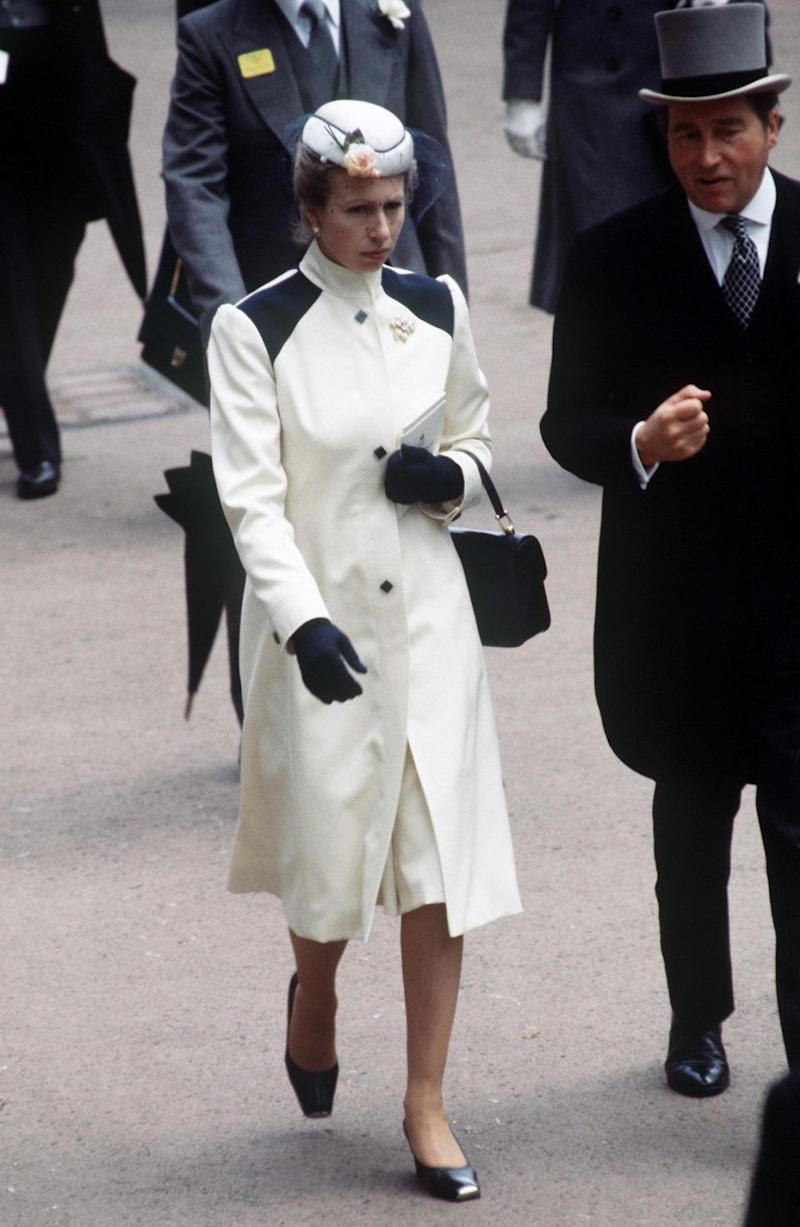 Princess Anne first stepped out in the coat in 1980. Photo: Getty
