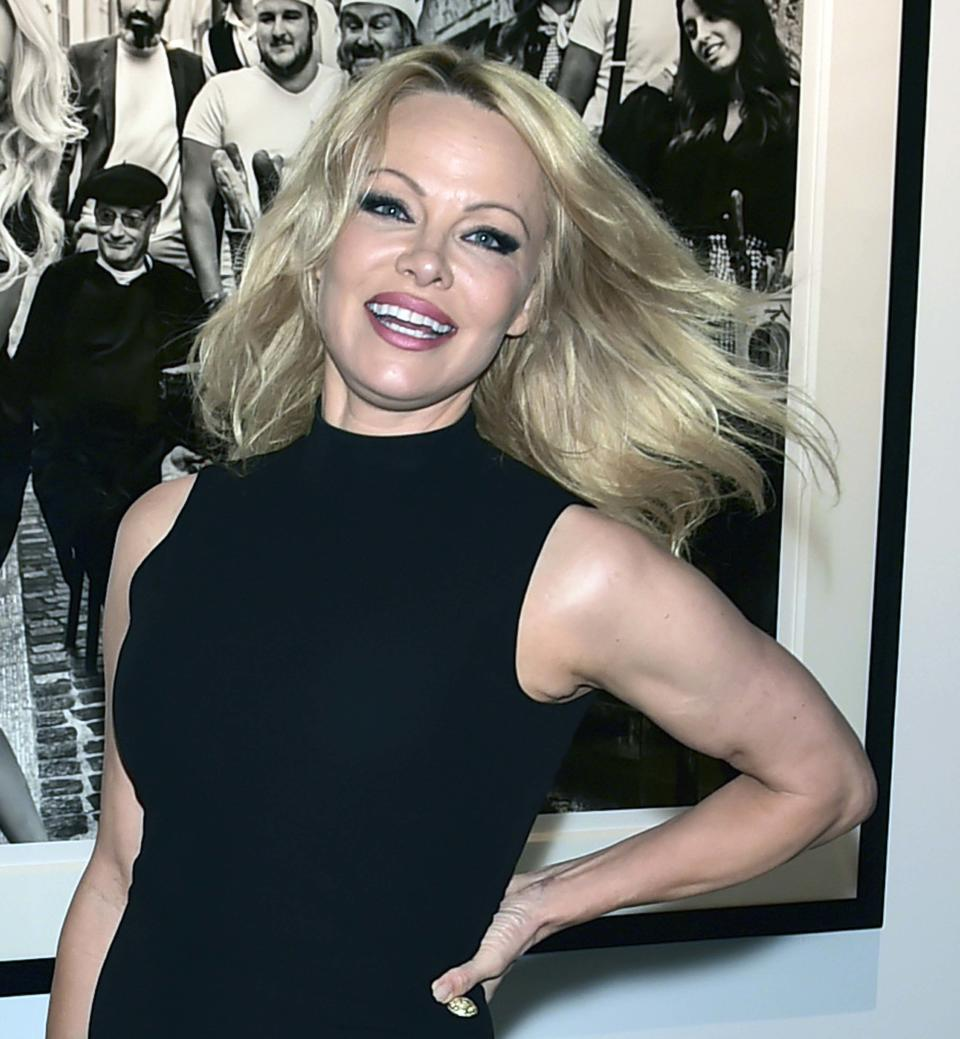 Pamela Anderson attends Maddox Gallery Los Angeles Presents: Pamela Anderson by David Yarrow at Maddox Gallery on June 07, 2019 in Los Angeles, California. (Photo by Michael Bezjian/Getty Images for Maddox Gallery Los Angeles)