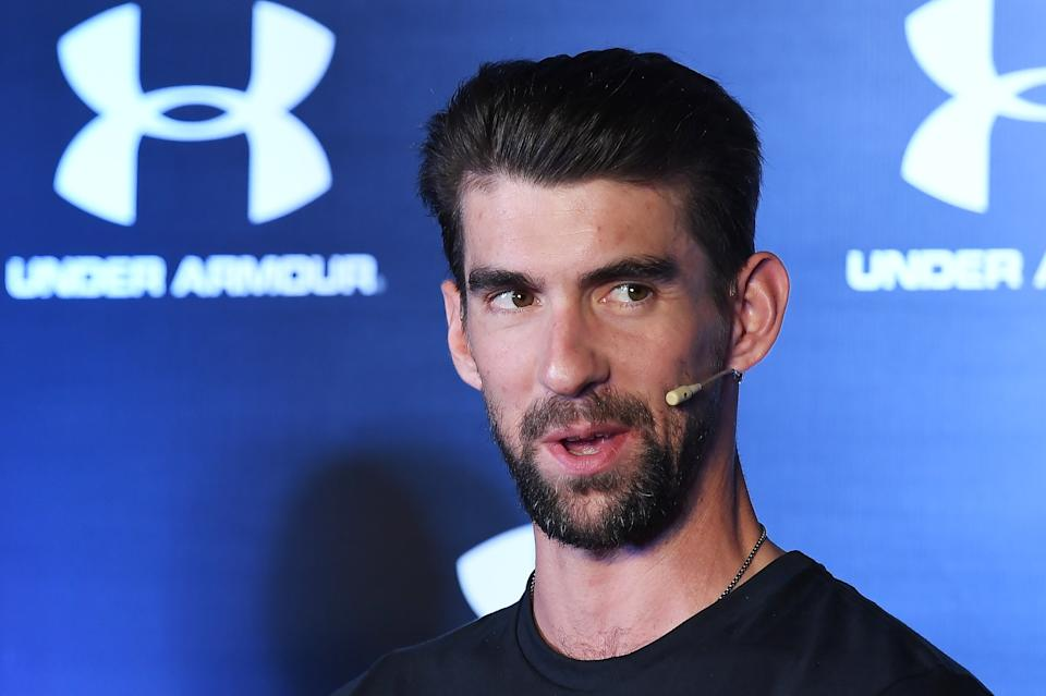 Former Olympian for Team USA swimming Michael Phelps.