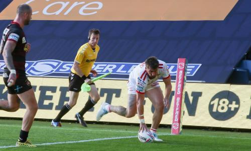 Greg Minikin's hat-trick for lowly Hull KR stuns leaders Wigan