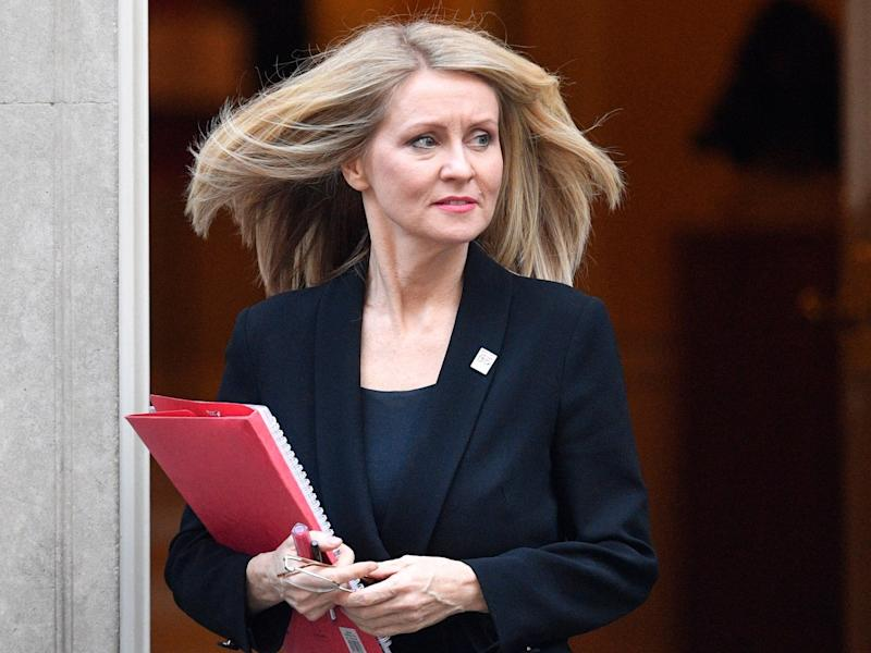 Conservative MP and former work and pensions secretary Esther McVey (EPA)