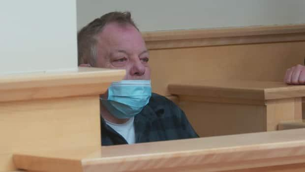 George Brake was sentenced to six months in jail Friday in a Corner Brook courtroom. (Colleen Connors/CBC - image credit)