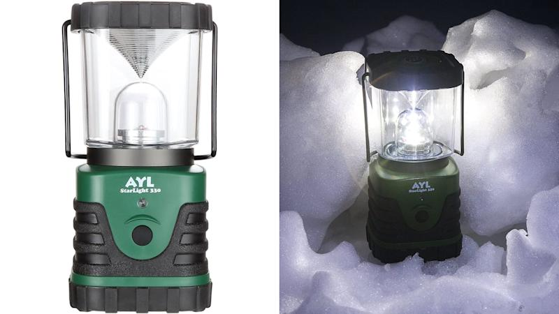 This lantern can run continuously for six days.