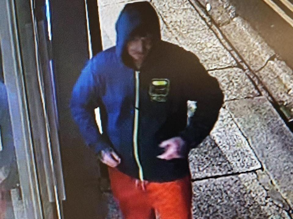 Police are appealing for help to find this man in connection with a burglary and a sexual assault in Truro, Cornwall (PA)